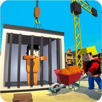 Jail City Builder: Block Craft