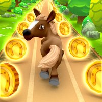 Pony Racing 3D - Pet Horse Runner for Girls