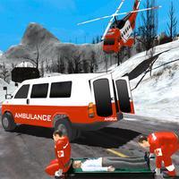 Hill Ambulance Parking Simulator- Rescue Drive 17