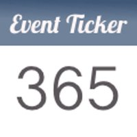 Event Ticker - Countdown to special days of life