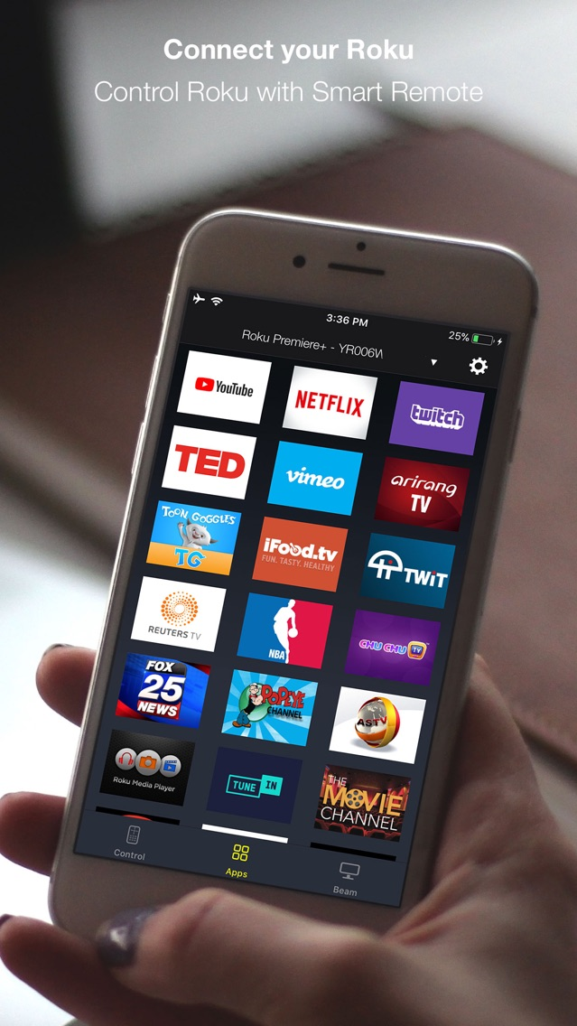 Smart Remote for Roku App for iPhone - Free Download Smart