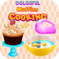 colorful muffins cooking games