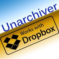 "DBUnarchiver - ""Zip/Unzip/Unrar for Dropbox & mail..."""