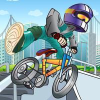A BMX Trick Mountain Bike Race FREE - Extreme Stunt Jumping Game