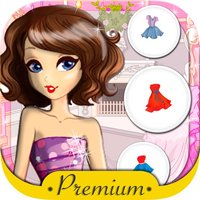 Dress dolls and design models fashion games for girls - Premium