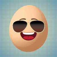 Sticker Me: Cool Egg