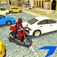 Xtreme Sport Bike Parking Sim
