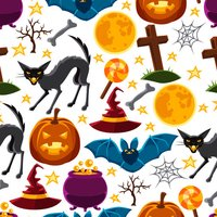 Halloween Holiday Stickers Pack