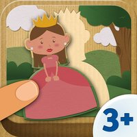 App for Girls Free - Fairytale Puzzle (10 pieces) 3+