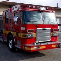 FireFighter truck driver real hero emergency parking