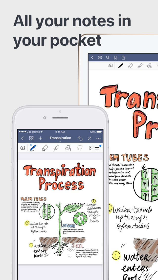 GoodNotes 5 App for iPhone - Free Download GoodNotes 5 for