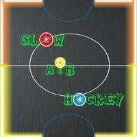 Glow Air Hockey Game