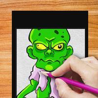 Drawing Lesson Zombie Fan