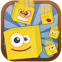 Goofy Emoji Face Puzzle Stack
