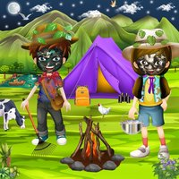 Crazy Kids Outdoor Summer Camp Party