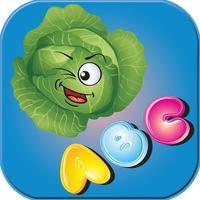 Kids ABC Alphabet Veggetable Learning Fun Easy