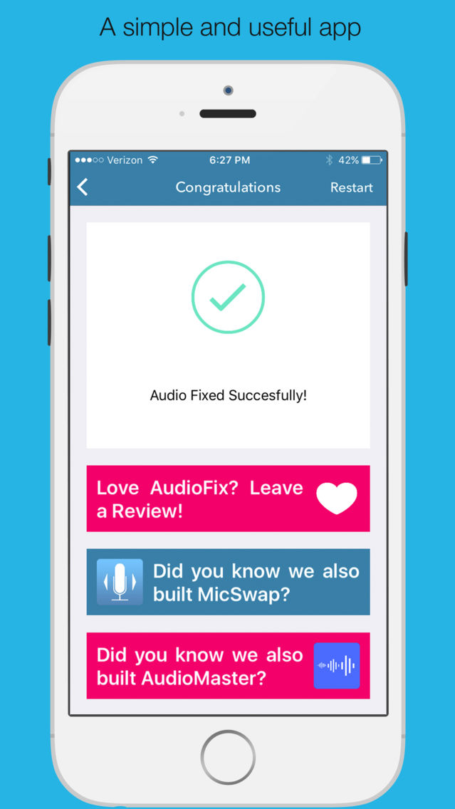 AudioFix: For Videos App for iPhone - Free Download AudioFix