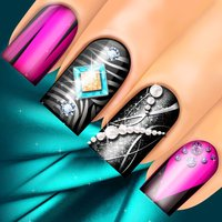 3D Nail Salon: Fancy Nails Spa Game for Girls to Make Cute Nail Designs