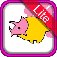 Dino Coloring for Kids Lite : iPhone edition