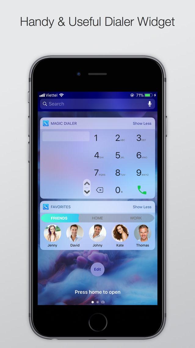Magic Dialer - Smart T9 Dialer App for iPhone - Free