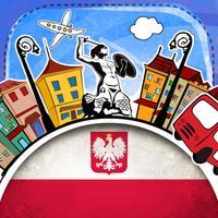 Polish Phrasi - Free Offline Phrasebook with Flashcards, Street Art and Voice of Native Speaker