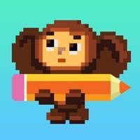 Pixel stories: coloring book