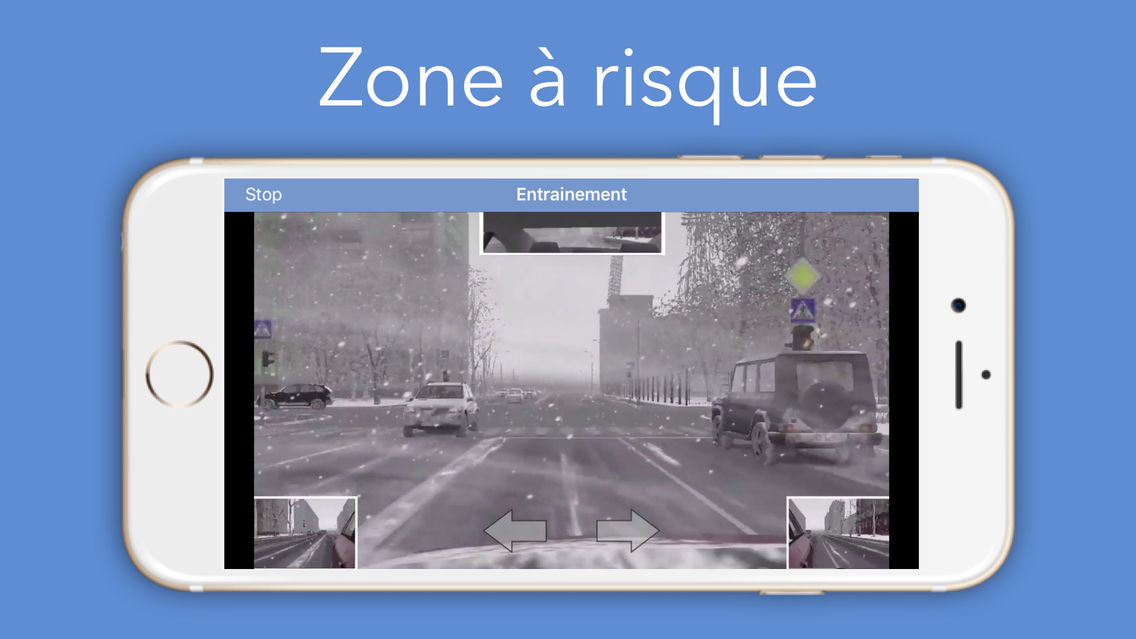 Test de perception des risques App for iPhone - Free
