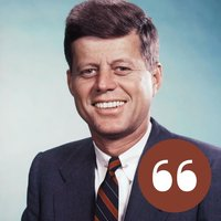 John F. Kennedy - The best quotes