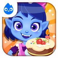 Princess Vampire cake party