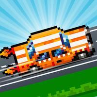 Hoppy Car Racing Free Classic Pixel Arcade Games