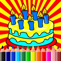 Birthday Coloring BookPages For Kids