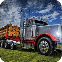 The Forest Wood Transporter: Heavy Cargo Truck