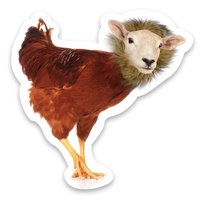 Animal Mashup Stickers