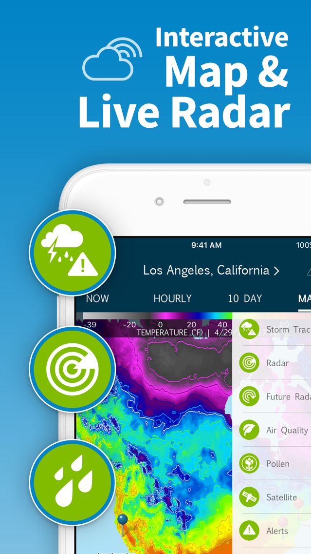 WeatherBug – Weather Forecast App for iPhone - Free Download