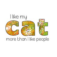 Cat Quote Stickers