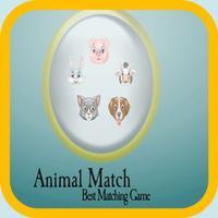 animals card match - Fun Animal Match Game For Kids