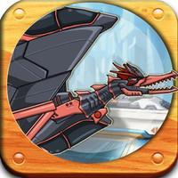 组装机械恐龙-金刚机甲变形机器人