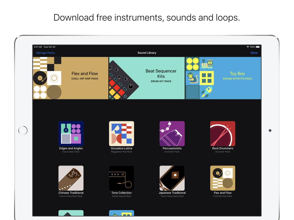 GarageBand App for iPhone - Free Download GarageBand for