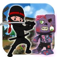 Ninja Zombie Monster Killer -Ninja vs zombie 3D