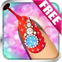 Princess Nail Salon For Trendy Girls - Make-over art nail experience like crayola party FREE