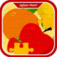 Lively Fruits learning jigsaw puzzle games for kid