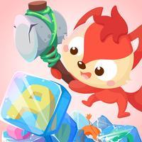 儿童游戏 - 砸字母冰块 狐涂涂学英语