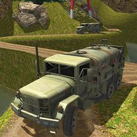 Army Truck Offroad Driving Tra