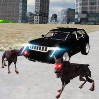 Real 4x4 Jeep Drive City Dogs