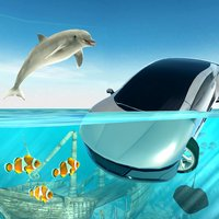 Submarine Car Diving Simulator