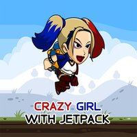 Crazy Girl With Jetpack