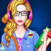 Dress Up Games College Girl