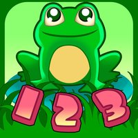 Learn numbers 123, Count Frogs