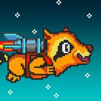 Splashy Jetpack Raccoon: Rocket Galaxy Adventure
