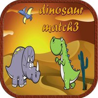 Dinosaur Match3 Games matching pictures for kids